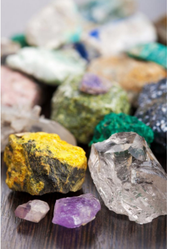 collection of the rarest minerals