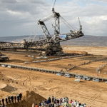Bucket Wheel-Excavator open pit-mining