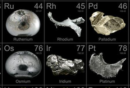 Rare Metals on Display