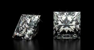Diamonds with Princess Cuts