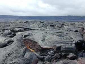 Big Island Hawaii volcano area