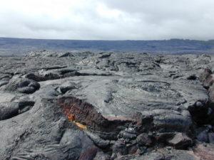 Big Island Hawaii volcano area
