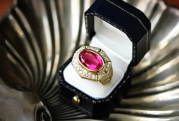 Ruby Ring in a Box