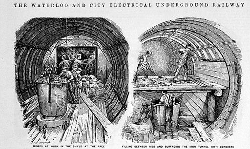 Greathead-tunnelling-shield